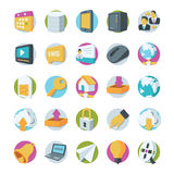 Network and Communication Vector Icons 2 Royalty Free Stock Images
