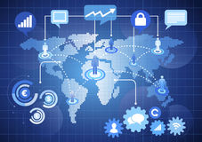 Network Communication World Wide Concept Stock Photo