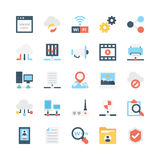 Network and Communications Vector Icons 2 Royalty Free Stock Image