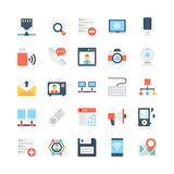 Network and Communications Vector Icons 3 Stock Photography
