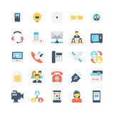 Network and Communications Vector Icons 5 Stock Photos