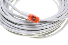 Network computer cable Stock Images
