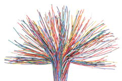 Network computer cable Royalty Free Stock Photos