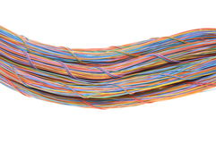 Network computer cables Royalty Free Stock Photography