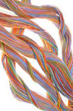 Network computer cables Royalty Free Stock Photos