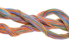 Network computer cables Royalty Free Stock Image