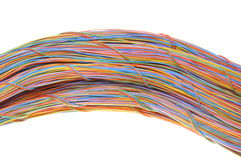 Network computer cables Stock Photos