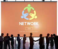 Network Computer Connection Internet Domain Concept Royalty Free Stock Photo