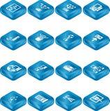 Network Computing Icons Series Stock Photos