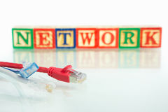 Network concept Royalty Free Stock Photo