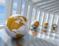 Network concept Royalty Free Stock Photos