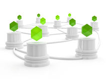 Network concept. Stock Photography