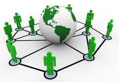 Network concept Stock Image