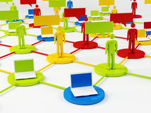Network Concept Royalty Free Stock Photography