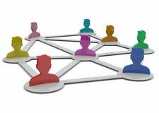 Network Concept - 3D Stock Photos