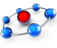 Network concept Stock Photography