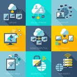 Network Concept Set Royalty Free Stock Image