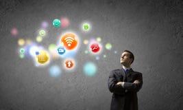 Network Connection Lizenzfreie Stockbilder
