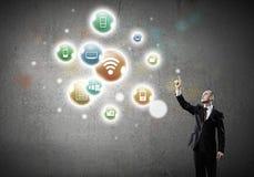 Network Connection Lizenzfreie Stockfotos