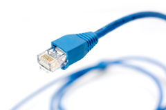 Network connection plug RJ-45 Royalty Free Stock Image