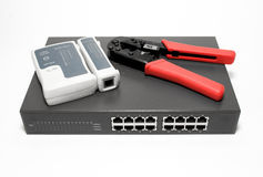 Network Connection Tools. Stock Photo
