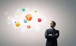 Network connection Royalty Free Stock Images