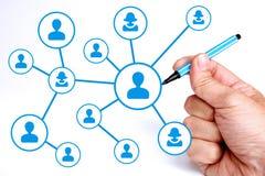 Network Connections Lizenzfreie Stockfotografie