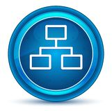 Network connections icon eyeball blue round button stock illustration