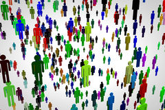 Network Connections Overpopulation 2 Royalty Free Stock Photography