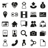 Network connections  On White Background. Network connections icon set  On White Background Created For Mobile, Web, Decor, Print Products, Applications. Vector Stock Photography