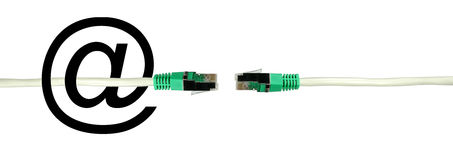 Network connector Royalty Free Stock Photography