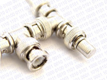 Network connector design stock photography