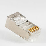 Network connector RJ45 Royalty Free Stock Photos