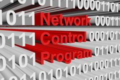 Network control program Royalty Free Stock Photo