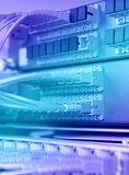 Network Data center Royalty Free Stock Images