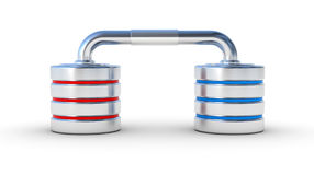 Network database concept icon Royalty Free Stock Photo
