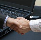 Network dealing Stock Photo