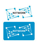 Network. Digital Network Connections Royalty Free Stock Photos