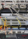 Network equipment Stock Images