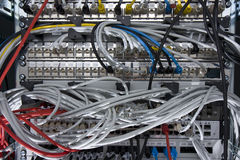 Network equipment Royalty Free Stock Images