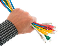 Network equipment Royalty Free Stock Photo
