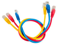 Network Ethernet Cabl Royalty Free Stock Image