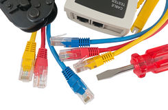 Network Ethernet Cabl Stock Photography