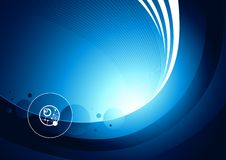 Network Future Background Stock Photo