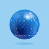 Network globe Royalty Free Stock Photos