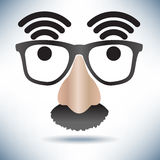 Network Hot Spot Icon Face Stock Photo