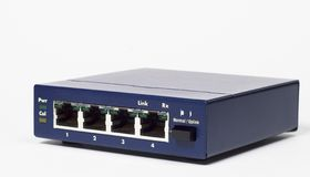 Network Hub. Ethernet computer hub or switch royalty free stock photography