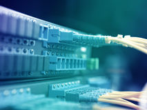 Network hub Stock Photo