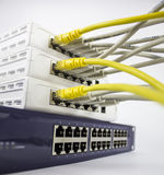 Network hub Stock Image