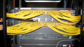 Network Hub Uplink Royalty Free Stock Image
